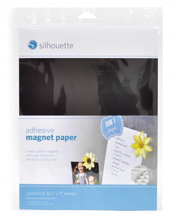 PRINTABLE ADHESIVE MAGNETIC PAPER