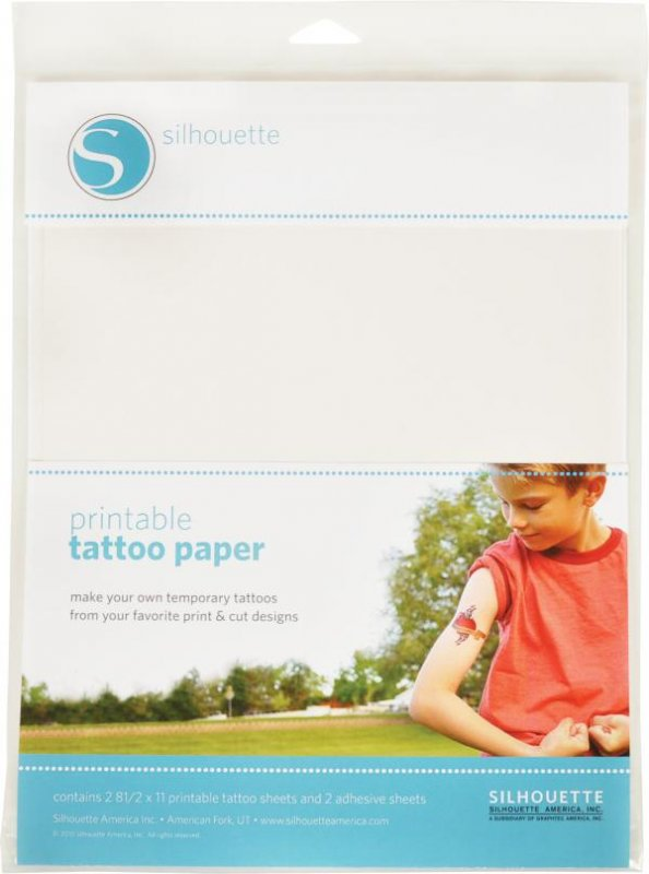 PRINTABLE TEMPORARY TATTOO PAPER