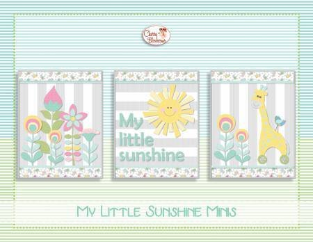 MY LITTLE SUNSHINE MINIS MINI QUILT PATTERNS - 705020450575