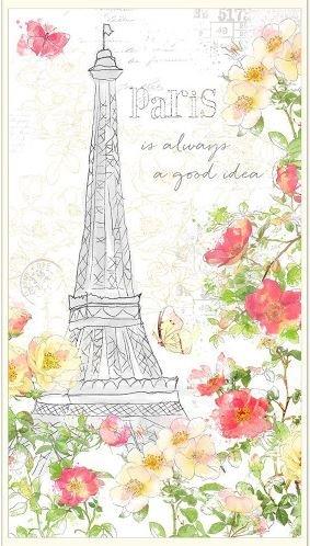 PAINTING PARIS - MULTI LARGE PANEL 3027-16501-135