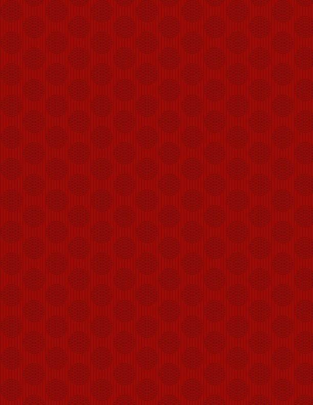 ESSENTIALS - CIRCLES & STRIPES RED 1817-39086-333
