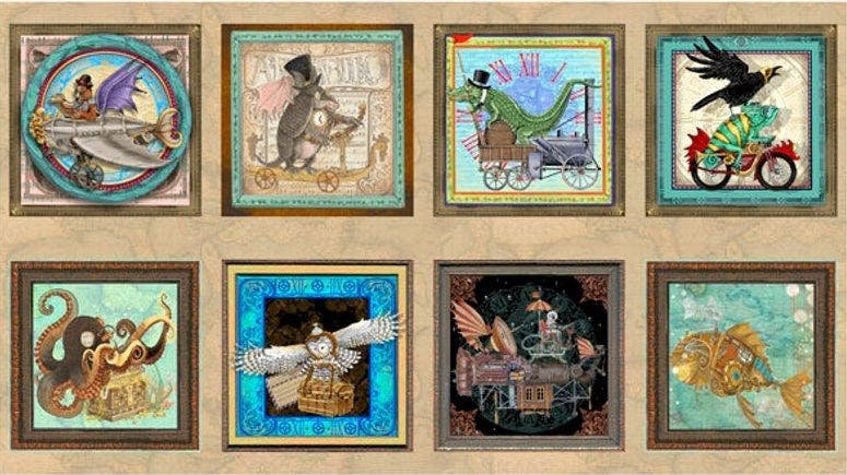 FANTASY & FICTION PANEL 1649-27550-X