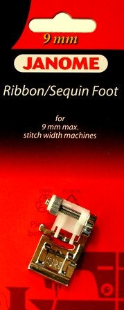 9mm RIBBON/SEQUIN FOOT