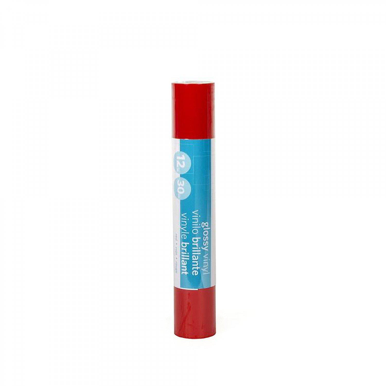 SILHOUETTE PREMIUM VINYL-GLOSSY RED 12 X 6'