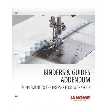 JANOME BINDERS & GUIDES ADDENDUM WBACCBINDERS