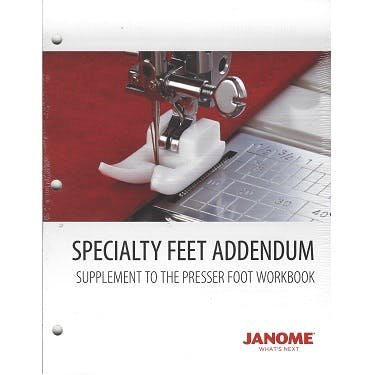 JANOME SPECIALTY FEET ADDENDUM WBACCSPECIALTY