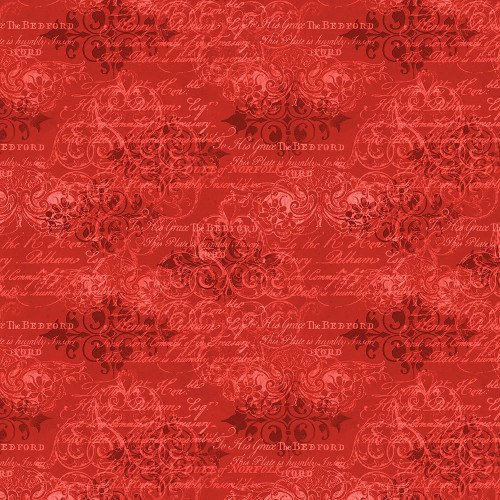 CARDINAL NOEL - RED DECORATIVE WORDS 39641-333