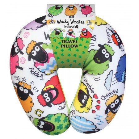 Wacky Woolies Travel Pillow