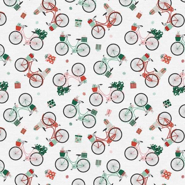 Bikes Home for Christmas - Paintbrush Studios