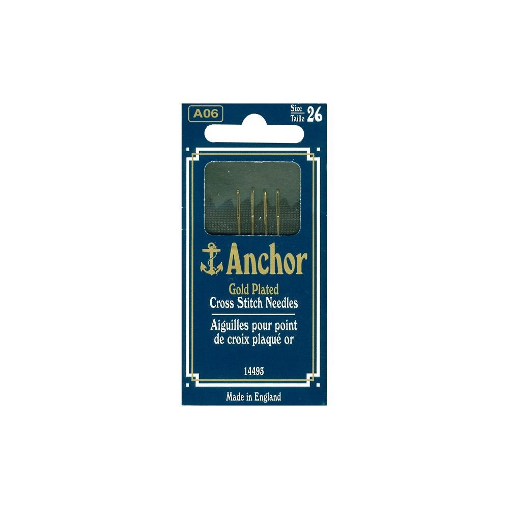 Gold Plated Cross Stitch Needles