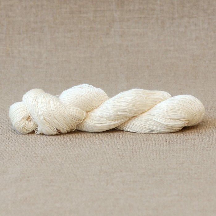 Lila Undyed Lace Yarn