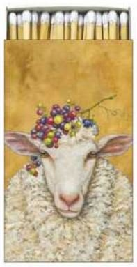Decorative Matches - Vineyard Sheep - PPD