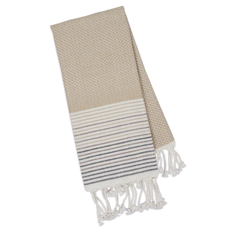 Taupe Diamond Fouta Towel 20 x 30 - 28986