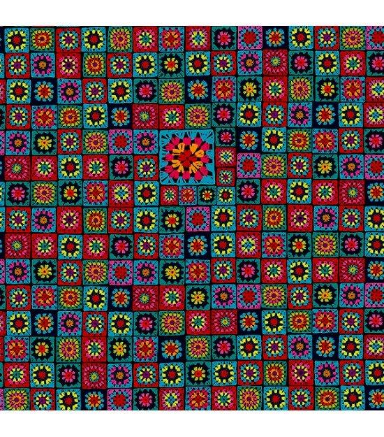 Velvet Granny Multicolor - Odile Bailloeul