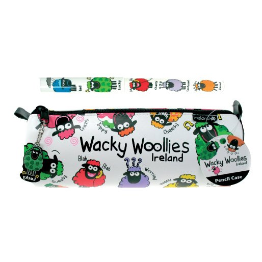 Wacky Woolies Pencil Case with Pen