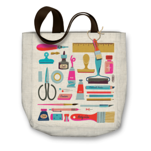 Art Lover Canvas Tote Bag - Punch Studio