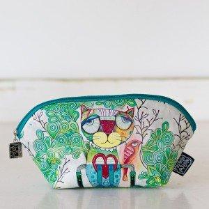 Allen Designs Small Cosmetic Bag