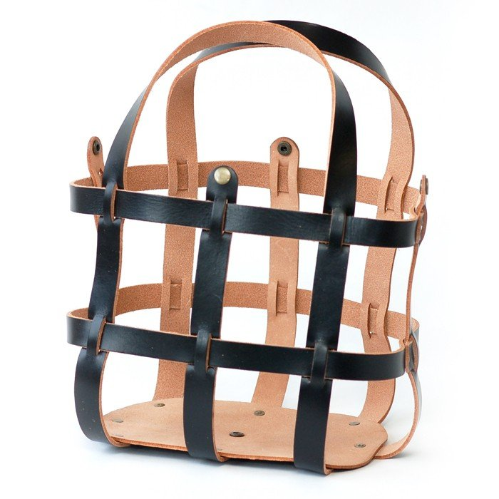 Makers' Mercantile Leather Purse Cage - Ebony