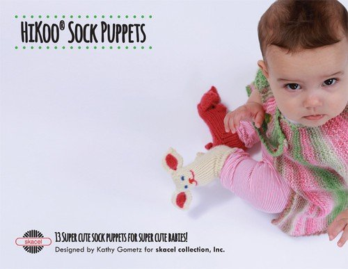 HiKoo Sock Puppets Book