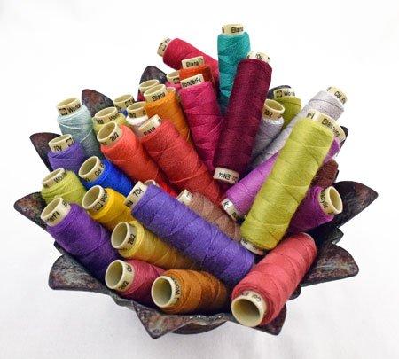 Ellana Thread - Sue Spargo ; 28wt 2 ply 50/50 Merino Wool/Acrylic Blend