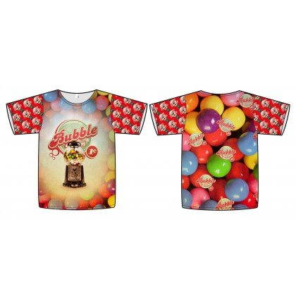 f04003aa9af Bubble Gum Balls PANEL Stenzo Jersey Digital Print Fabric 59
