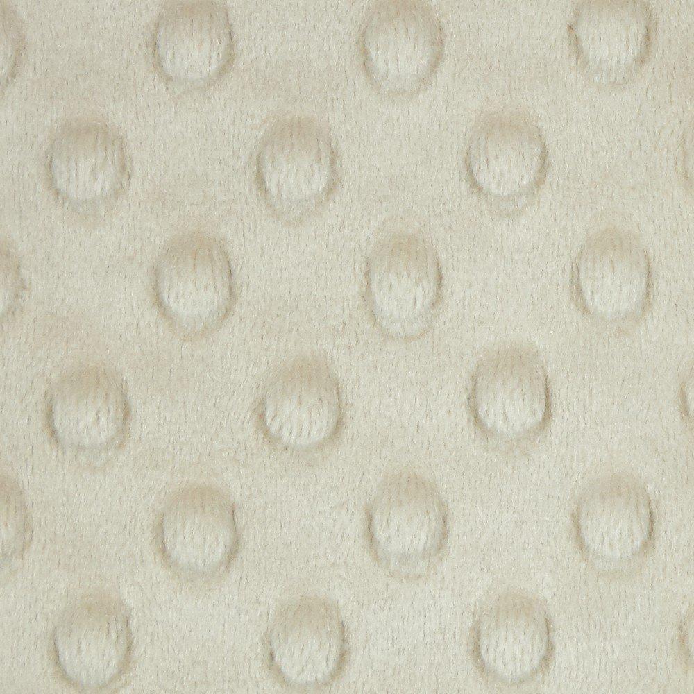 Minky Dots Fabric 58/60 - Latte