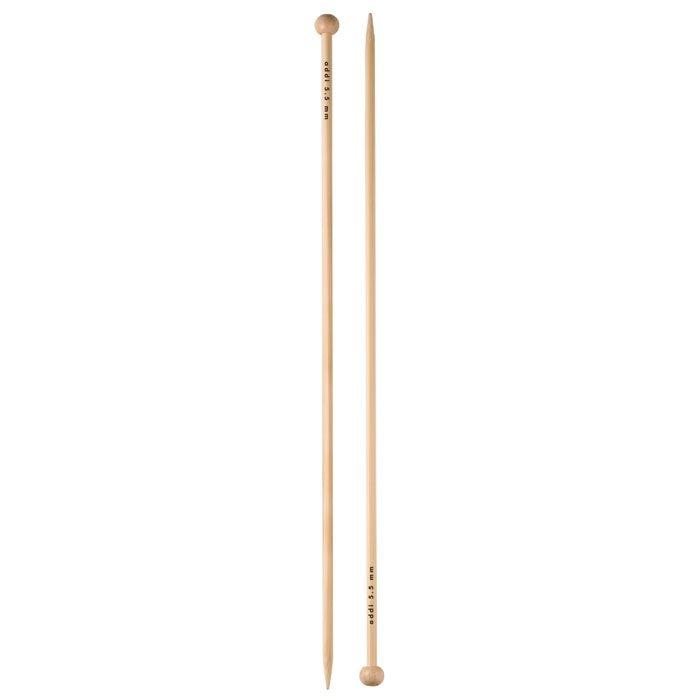 addi Bamboo Straight Knitting Needles - 10 or 14 US 1-17