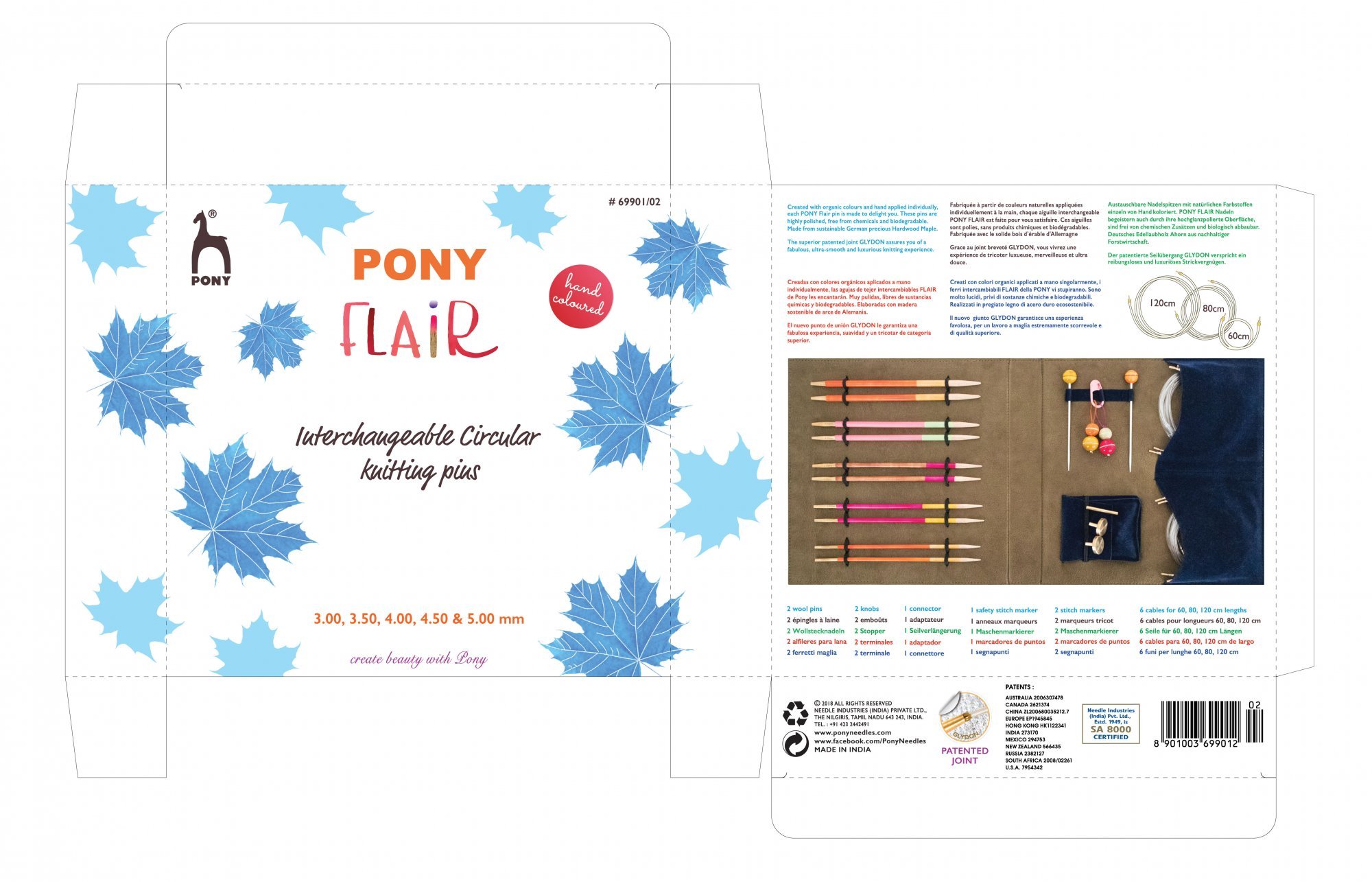 Pony Flair Interchangeable Circular Knitting Kit