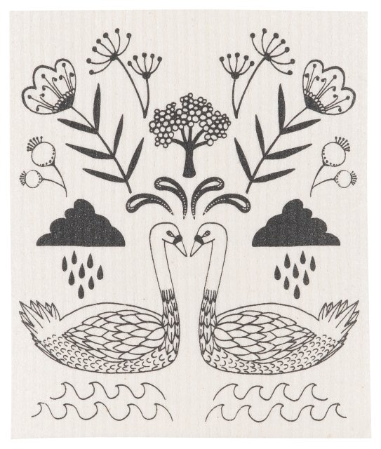 Swedish Wild Tale Dish Cloth
