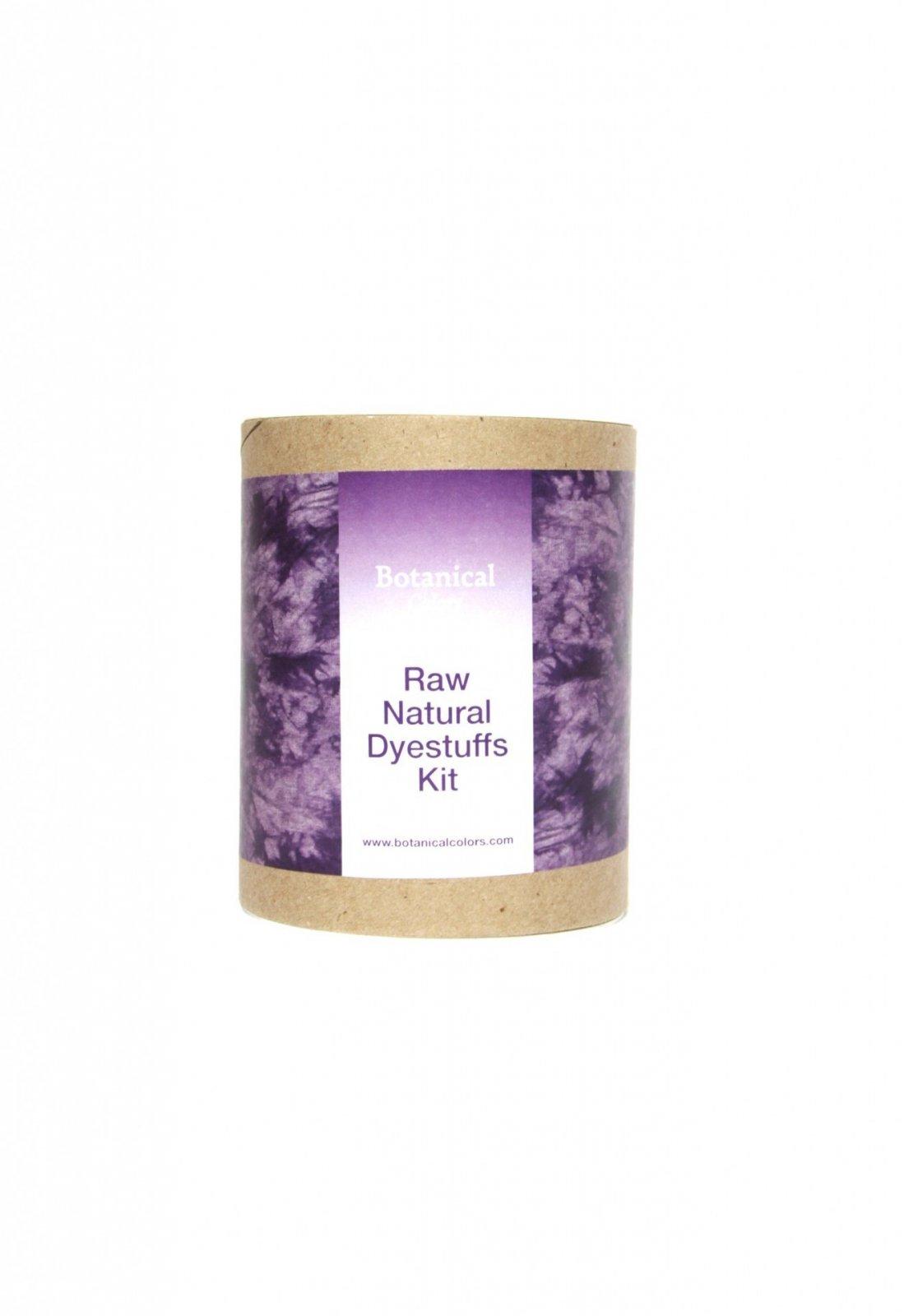Botanical Colors Dye Kit  Natural Dye Kit w/ Raw Dyestuffs