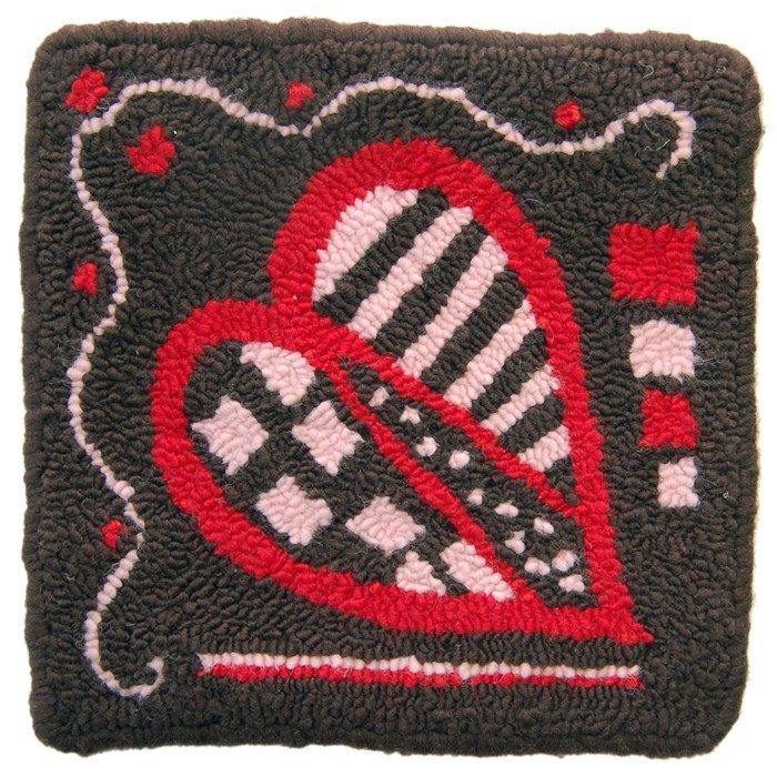 Fiberhooking Pattern - Chocolate Heart #44000106