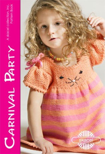 Skacel Pattern #21100073 Carnival Party - A Colorful Collection of Child's Dresses by Diana Harker