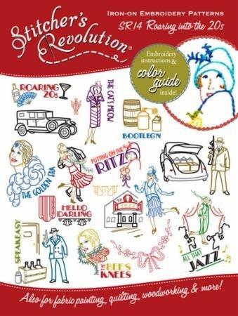 Moda Stitcher's Revolution Roaring 20's Embroidery Patterns
