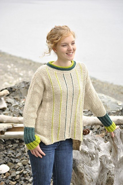 Skacel Pattern #21100623 Kenzington - One Size Fits Many Pullover