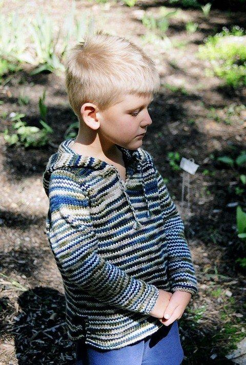 Knitting Pure & Simple Pattern - #232 Children's Tunic