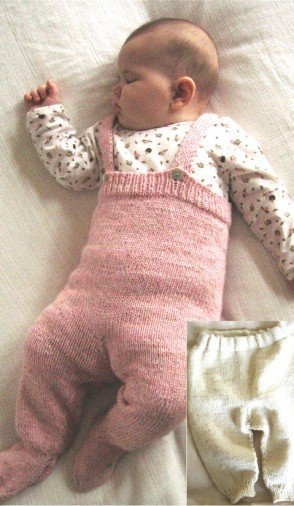 Knitting Pure & Simple Pattern - #262 Baby Bottoms