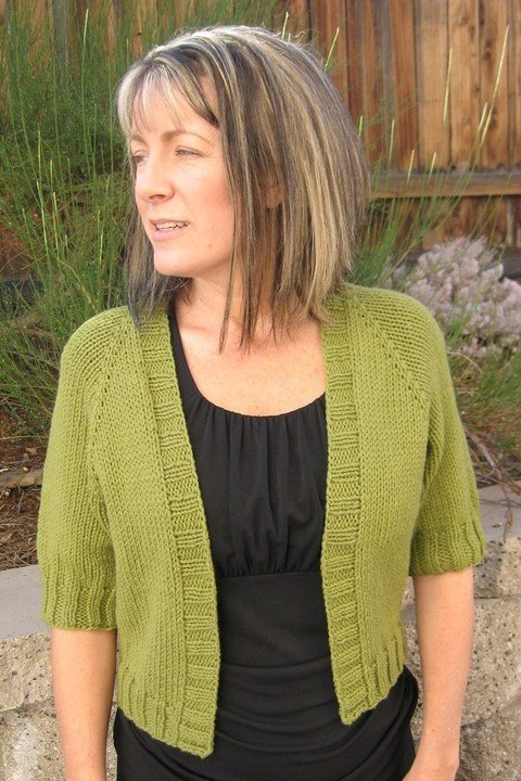 Knitting Pure & Simple Pattern - #294 Summer Open Cardigan