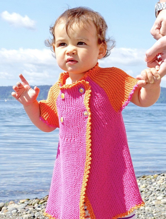 Cobasi DK - Grow Into Me Dress and Cardi Pattern #21100673