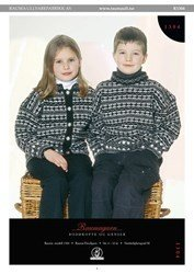 Finullgarn Pattern - Child's Pullover and Cardigan 1304