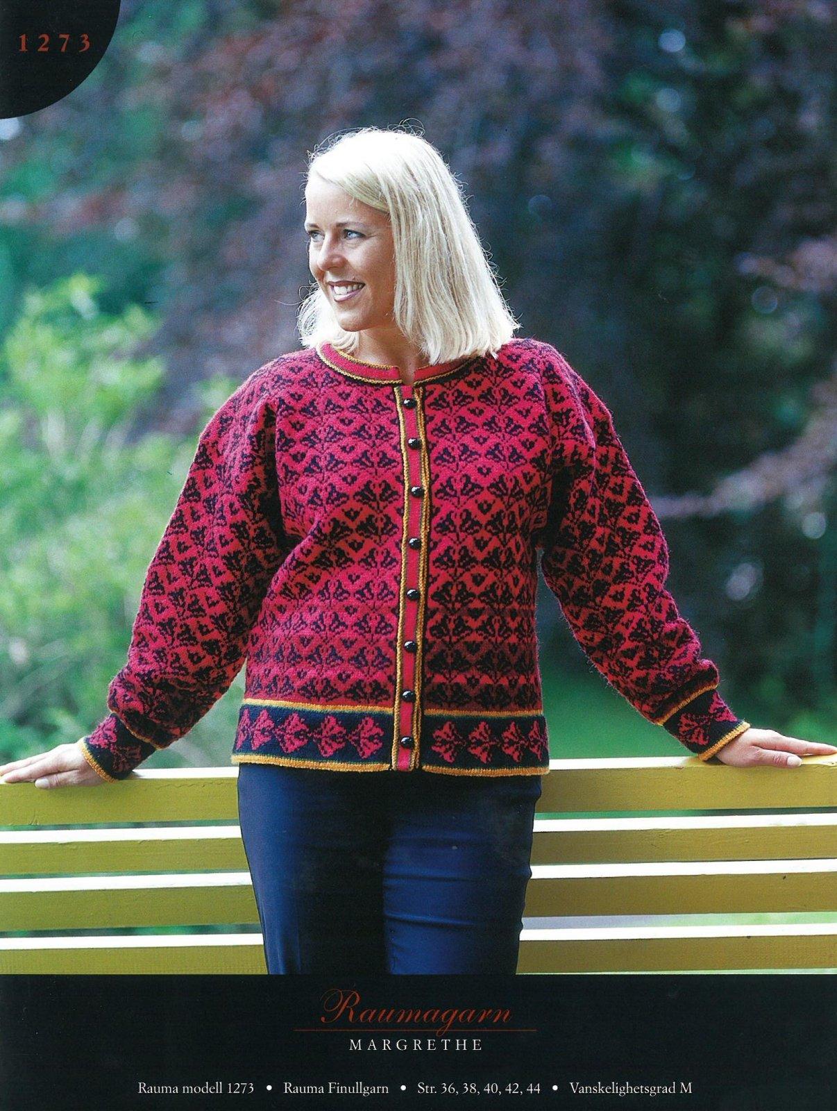 Finullgarn Pattern - Cardigan 1273