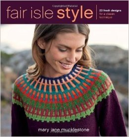Fair Isle Style Pattern Book by MaryJane Mucklestone
