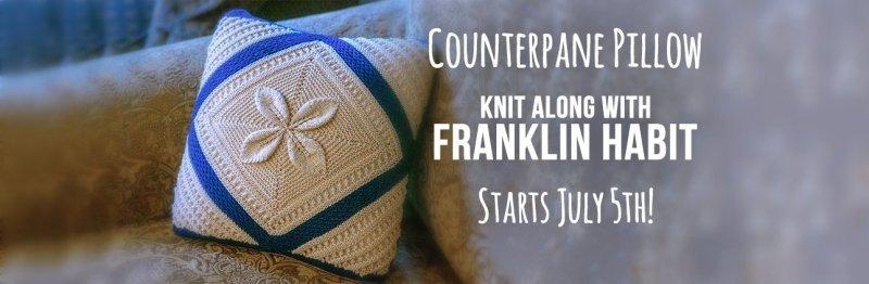 Franklin Habit Counterpane Pillow