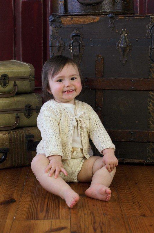 Appalachian Baby Organic Cotton - Hello Baby Jacket Gift Box Kit