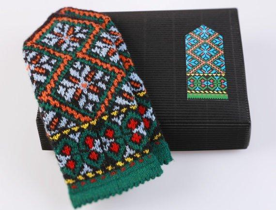 Knit Like a Latvian Traditional Mittens Knitting Kit