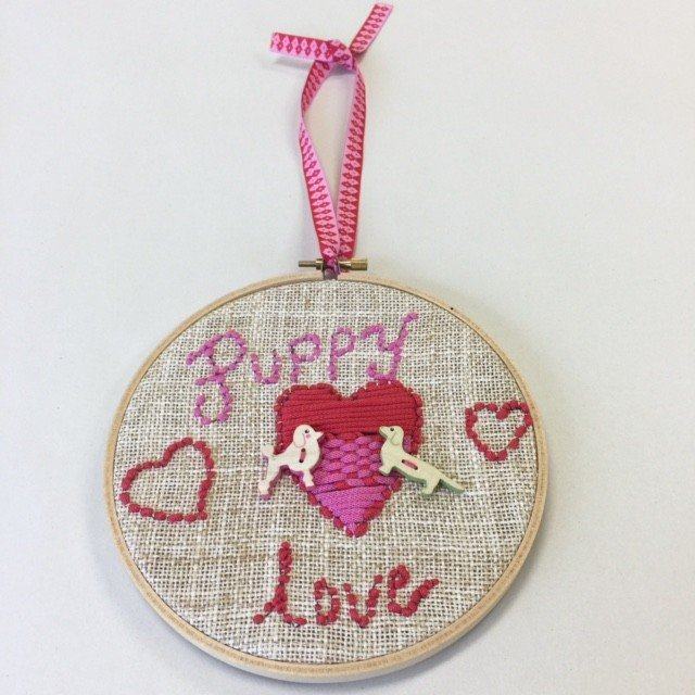 Puppy Love Stitching Kit