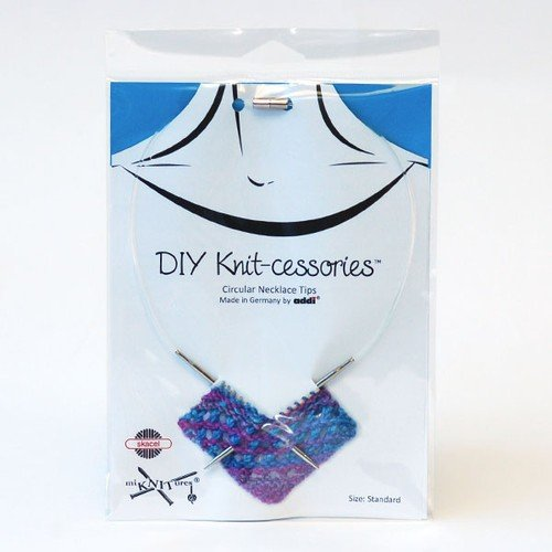 DIY Knit-cessories Knitting Needle Necklace Tips