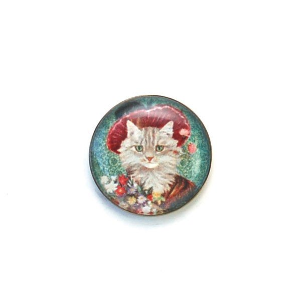 Dressed Up Cat Buttons