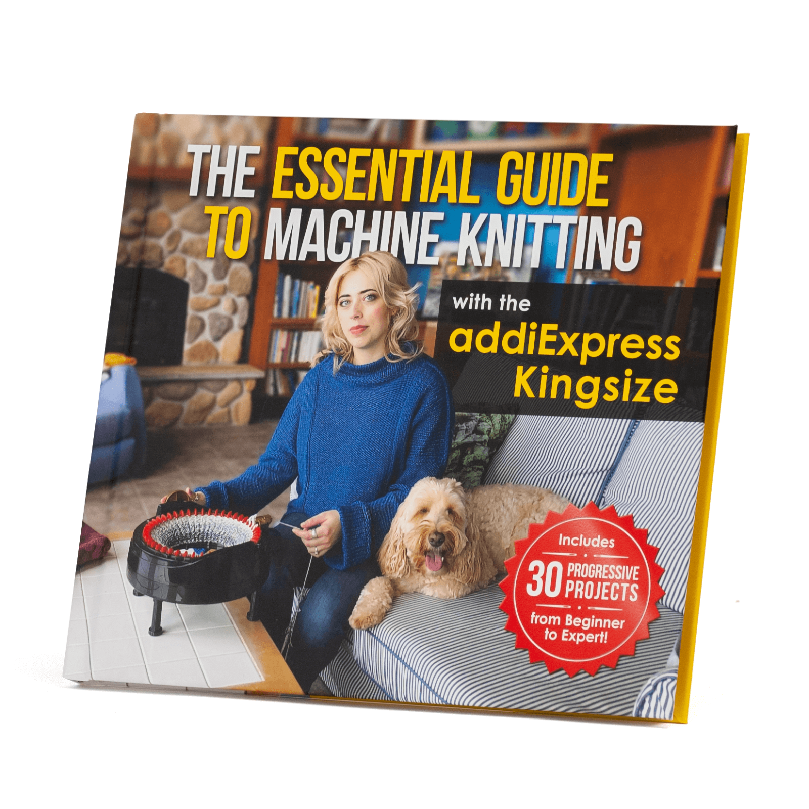 The Essential Guide to Machine Knitting - physical book