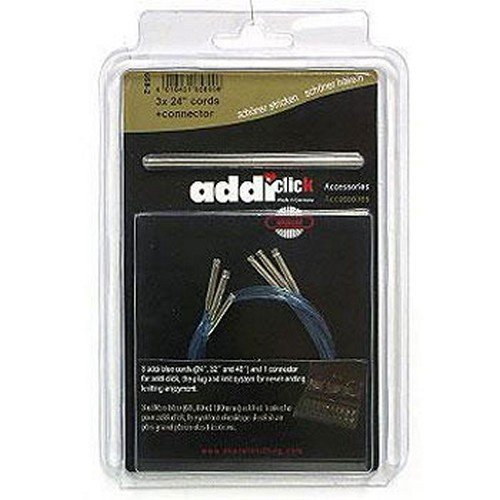 addi Click Turbo Cord 3-Pack w/Connector - 24inch