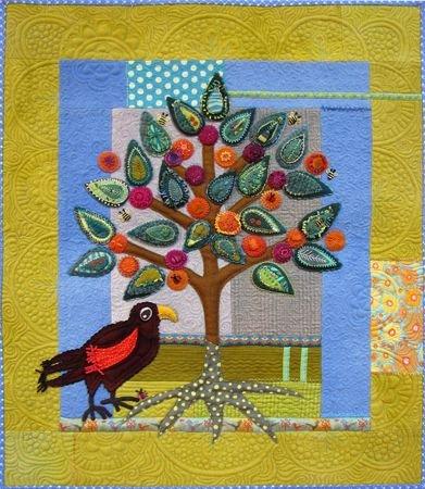 Sue Spargo Wallhanging Pattern - African Marula